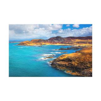 West coast of Scotland Canvas Print