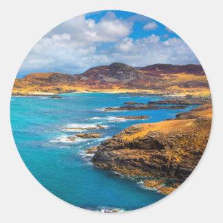 West coast of Scotland Classic Round Sticker