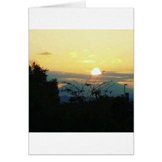 west coast sunset card