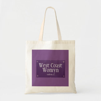 West Coast Womyn tote bag