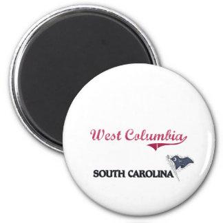 West Columbia South Carolina City Classic Fridge Magnets