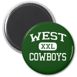 West - Cowboys - High - Minneapolis Minnesota Magnet