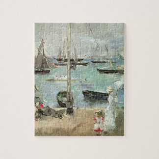 West Cowes, Isle of Wight by Berthe Morisot Jigsaw Puzzle