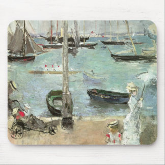 West Cowes, Isle of Wight by Berthe Morisot Mouse Pad