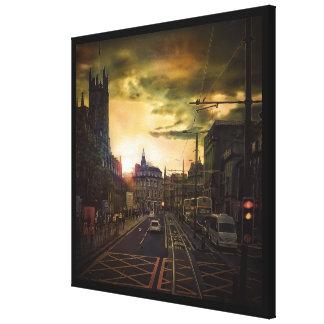 West End Canvas Print
