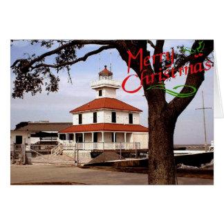 West End Lighthouse Christmas Card