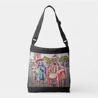 West End Masqueraders Musicians Virgin Islands Crossbody Bag