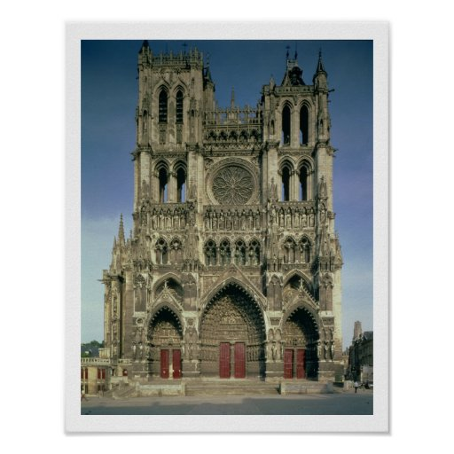 West Facade, c.1220-70 (photo) (for details see 94 Print