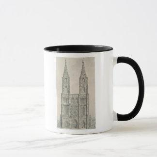 West Front of Strasbourg Cathedral Mug