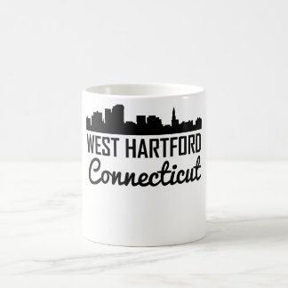 West Hartford Connecticut Skyline Coffee Mug