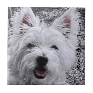 West Highland Dog Terrier Tile