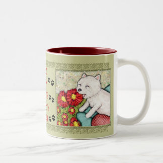 West Highland Terrier Dog Mom Coffee Mug