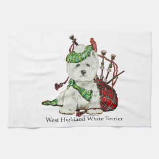 West Highland Terrier Kitchen Towel