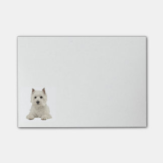 West Highland Terrier Puppy Dog Post-it Notes