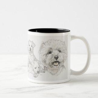 West Highland Terrier Two-Tone Coffee Mug