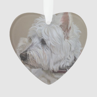 West Highland White Terrier Art Decoration
