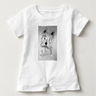 West Highland White Terrier Baby Romper