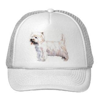 West Highland White Terrier  Cap Trucker Hat