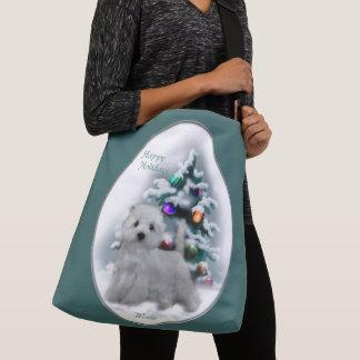 West Highland White Terrier Christmas Crossbody Bag