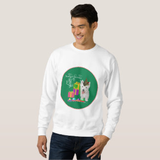 West Highland White Terrier Christmas Elf Sweatshirt