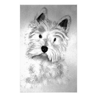 West Highland White Terrier Custom Stationery