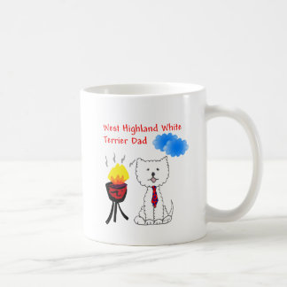 West Highland White Terrier Dad Mug