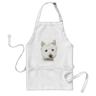 West Highland White Terrier Dog Standard Apron