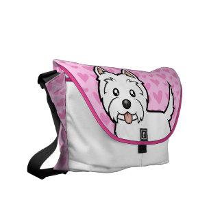 West Highland White Terrier Love Commuter Bag