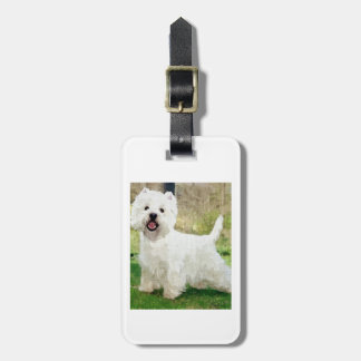 West Highland White Terrier Luggage Tag