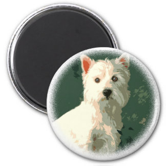 West Highland White Terrier Magnet