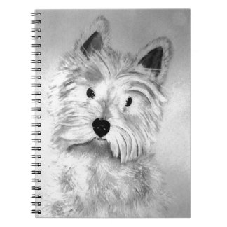 West Highland White Terrier Note Book