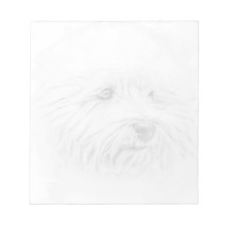 West Highland White Terrier Notepad