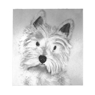 West Highland White Terrier Notepads