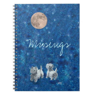 West Highland White Terrier NOTES Note Book
