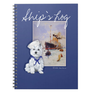 West Highland White Terrier NOTES Spiral Notebook