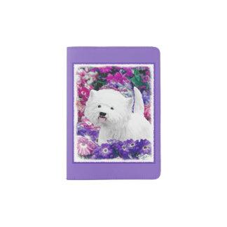 West Highland White Terrier Passport Holder