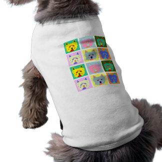 West Highland White Terrier Pop Art Dog T Shirt