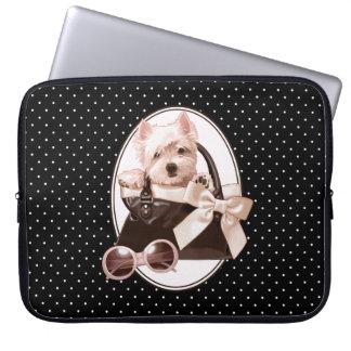 West Highland White Terrier Puppy Laptop Sleeve