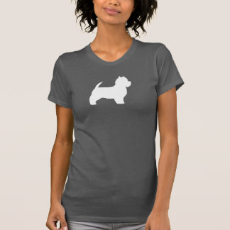 West Highland White Terrier Silhouette T-Shirt