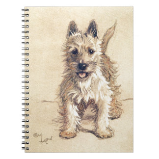 West Highland White Terrier Spiral Notebook