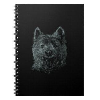 West Highland White Terrier Spiral Notebooks
