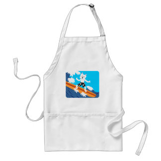 West Highland White Terrier Surfer Standard Apron