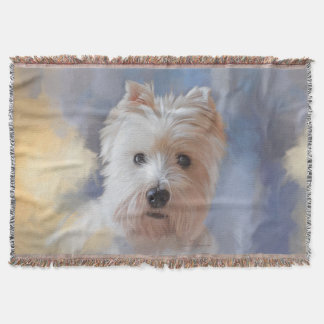 West Highland White Terrier Throw