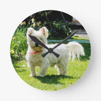 West Highland White Terrier Wallclock