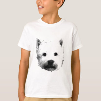 West Highland White Terrier Westie Dog Image T-Shirt