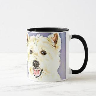 West Highland White Terrier,Westie,Dog,Puppy Mug