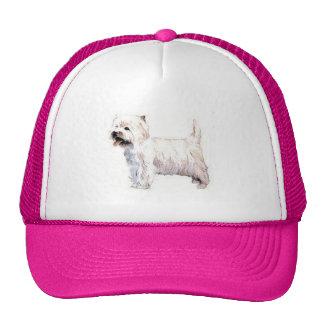 West Highland White Terrier Westie Trucker Hat