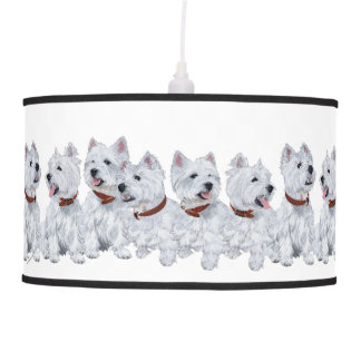 West Highland White Terriers Pendant Lamp