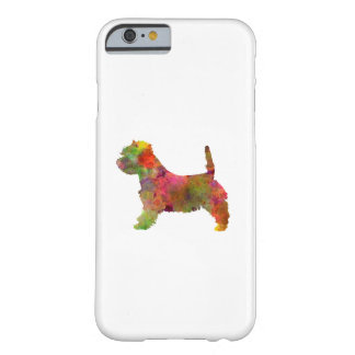 west highland white to terrier in watercolor 2 barely there iPhone 6 case