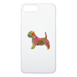 west highland white to terrier in watercolor 2 iPhone 8 plus/7 plus case